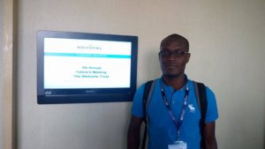 Dr Constant Ahoua, Afrique One-ASPIRE coordination assistant