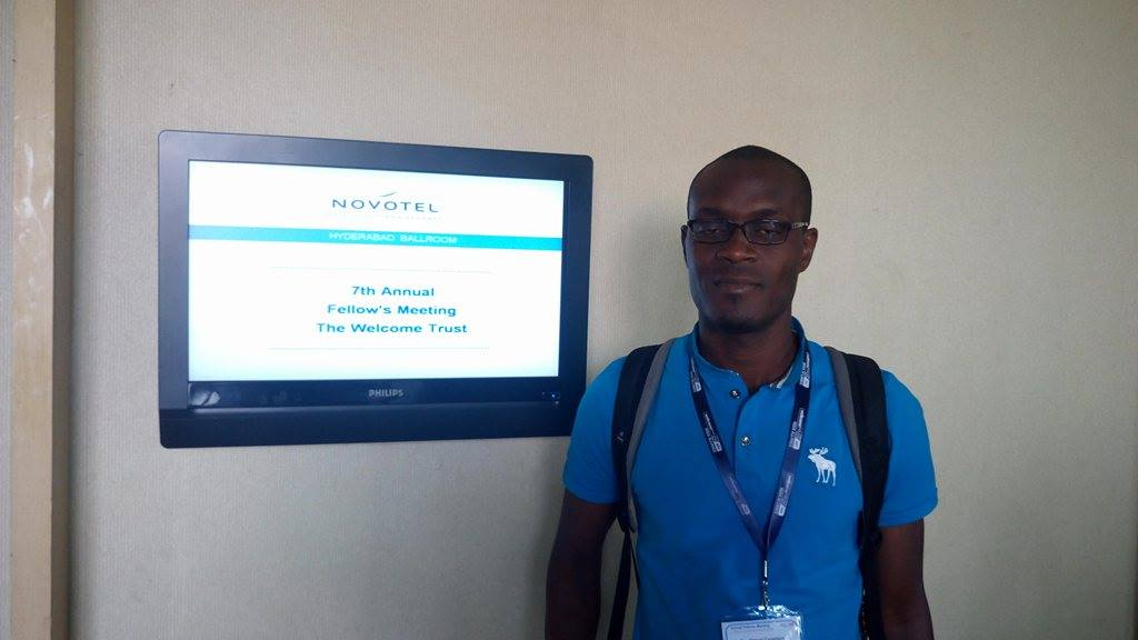Dr Constant Ahoua, Afrique One-ASPIRE coordination assistant