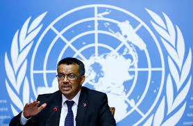 Dr TEDROS WHO Pdt