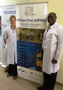 From left to right: Dr Katharina Kreppel and Prof Rudovick Kazwala